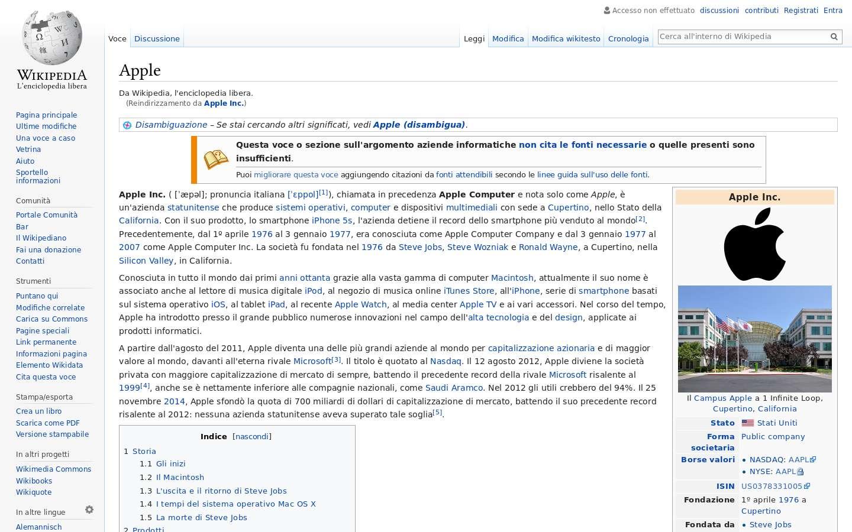 Schermata https://it.wikipedia.org/wiki/Foxconn