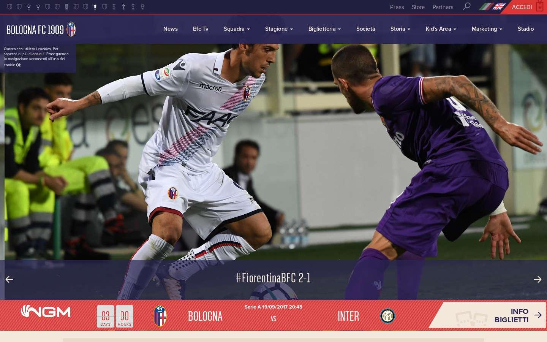 Bologna FC Invia candidatura