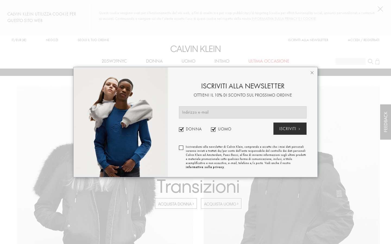 new styles 6bb41 b571b ▷ ▷ Calvin Klein Invia candidatura Posizioni 2018 ...