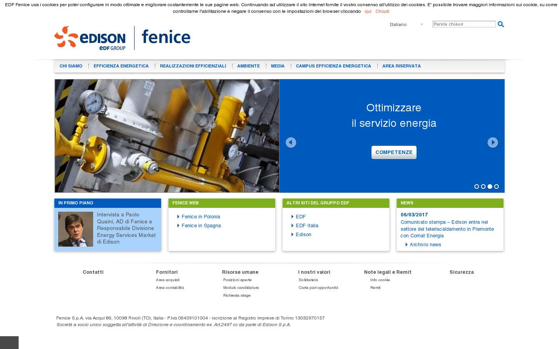 Paginata di http://www.edf-fenice.com/
