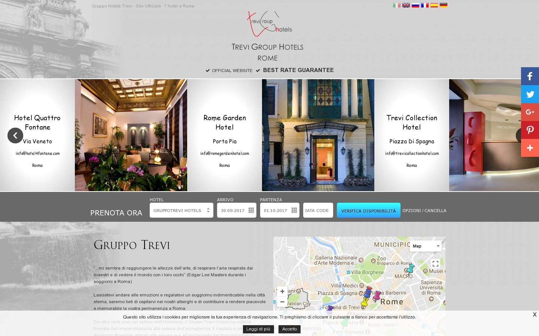 Paginata di http://www.gruppotrevi.it/